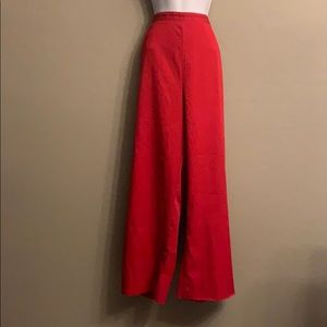 Alfred Dunner Red Plus Size 22W Pants